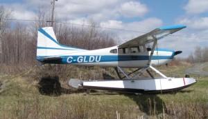 C-FLDU: Cessna 185 Painting Project